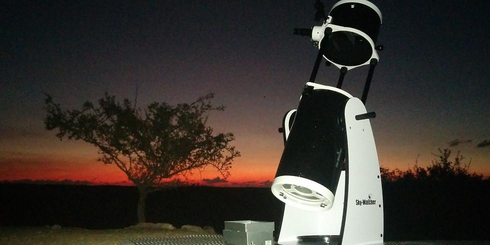תצפית אסטרונומית בשטח 18/07/2019