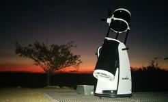 Telescope at Sunset. Photo by Ella Ratz.
