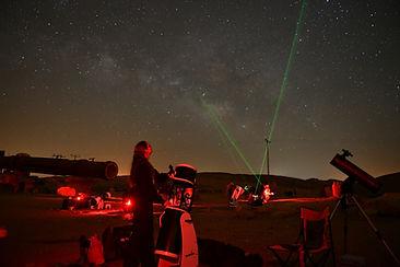 תצפית אסטרונומית במדבר