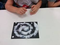 גלקסיה מצמר גפן-אסטרונומיה לילדי גן