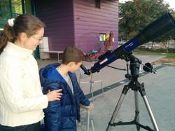 תצפית טלסקופית