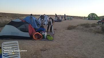 -אורנה מרסאוהלים מוקמים, טלסקופים מחכים
