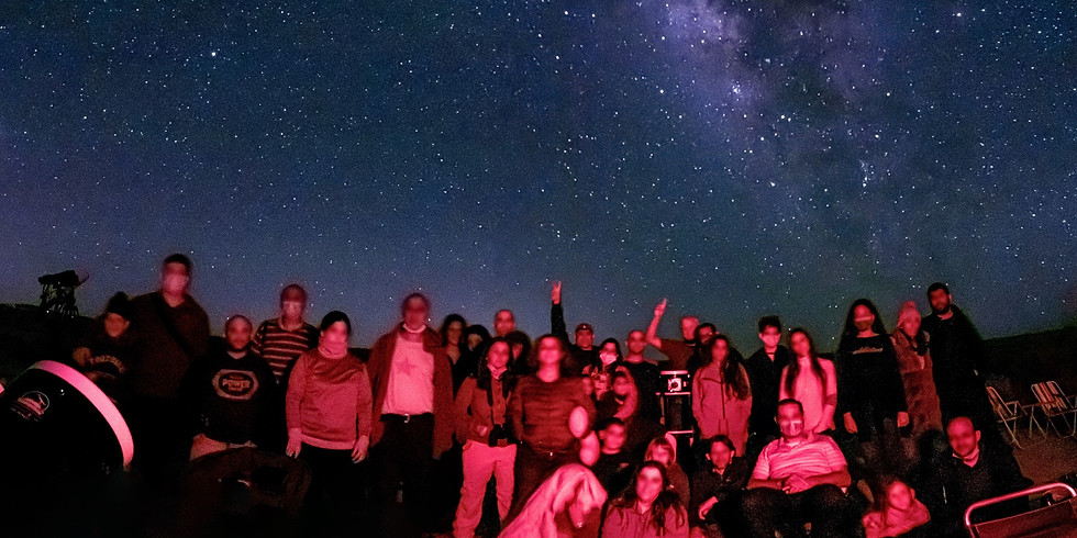 תצפית אסטרונומית במדבר 5 באוגוסט בשעה 15:00