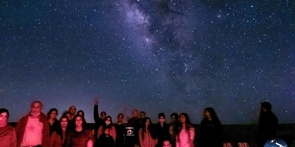 תצפית אסטרונומית מיוחדת במדבר 5 בנובמבר בשעה 12:30