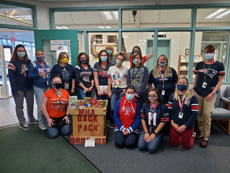 Hussey Staff Supported are team and our community.