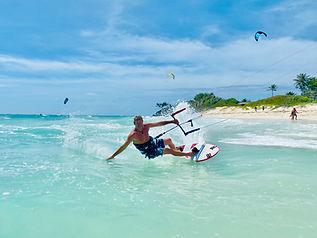 Silver Rock Barbados kitesurfing