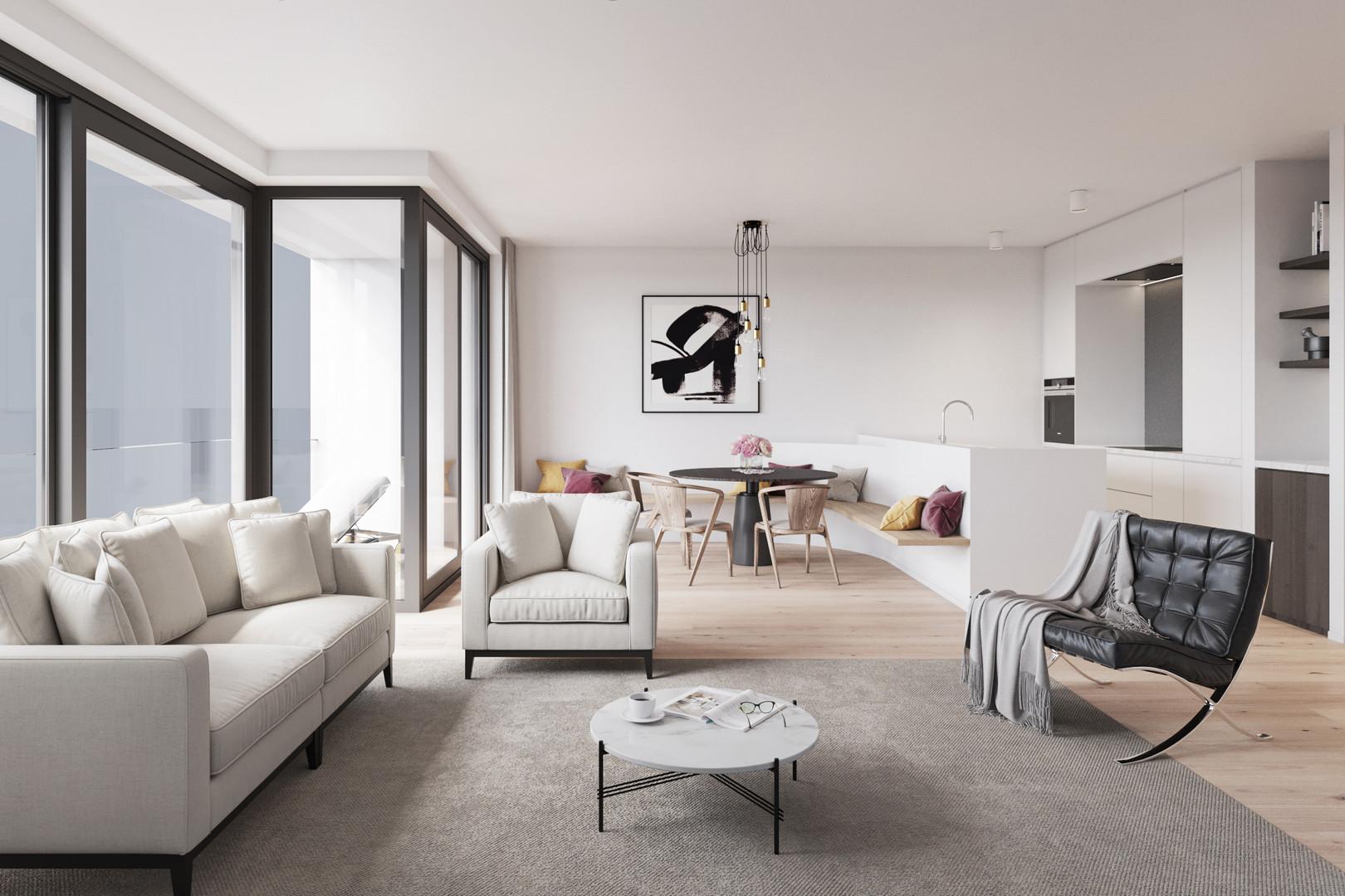 Toronto - Visualisatie - Interieur (2020