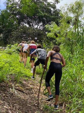 hiking in Batsheba