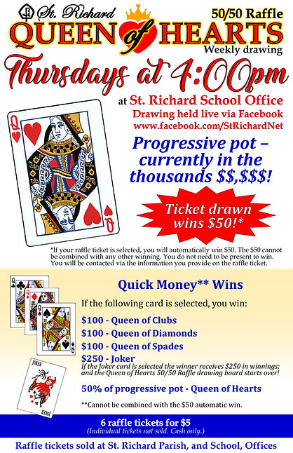Queen of Hearts flyer front only 11x17 N