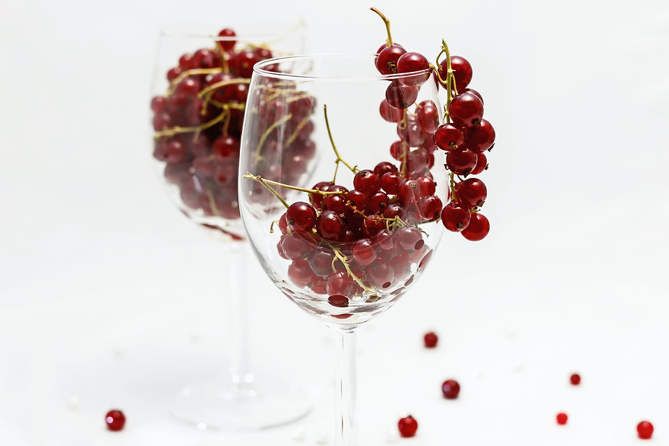 Berries in a glass by Hanna Tor