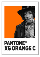 Pantone Xg orange jim