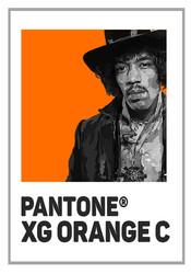 Pantone Xg orange jim