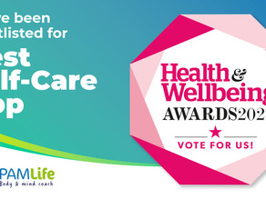 Vote for us in the Health & Wellbeing Awards 2021