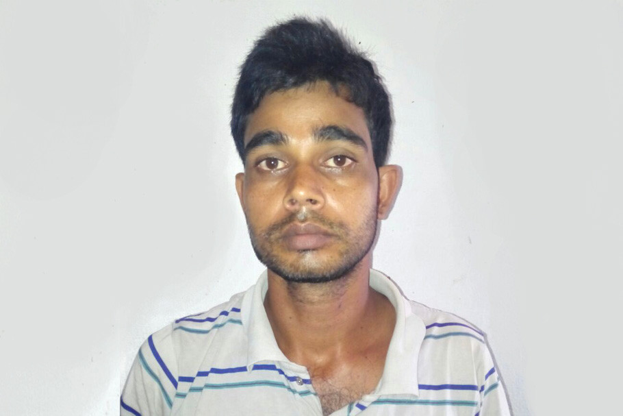 Man arrested at Gazole with fake appointment letter
