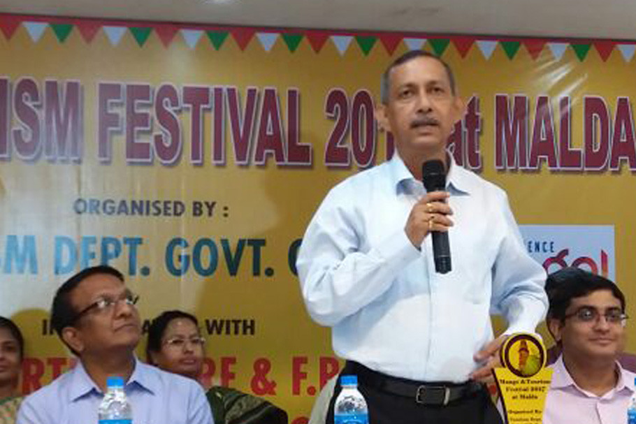 Minister Goutam Deb at Hotel Golden Park