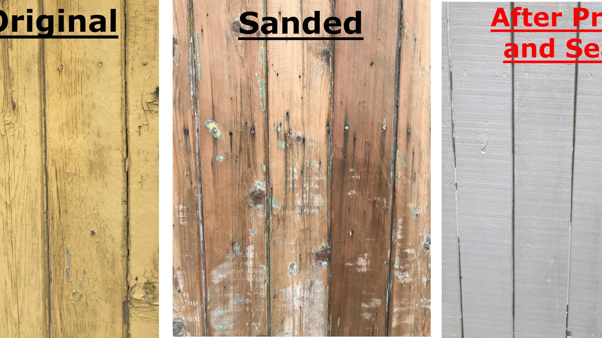 Wood, trim