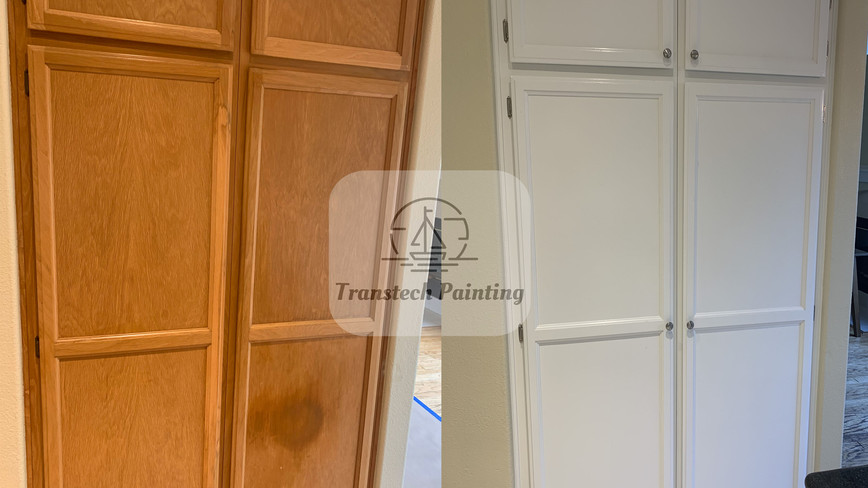 Before and After - Kitchen Cabinet