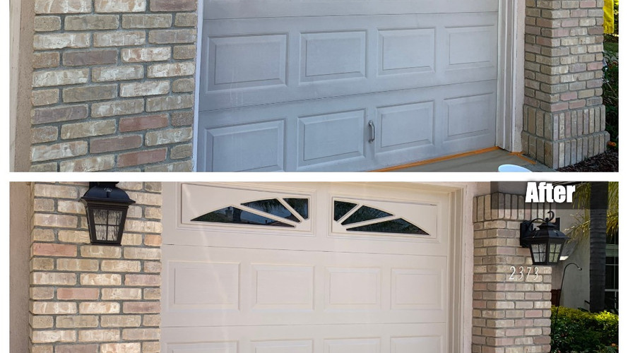 GarageDoor Painted