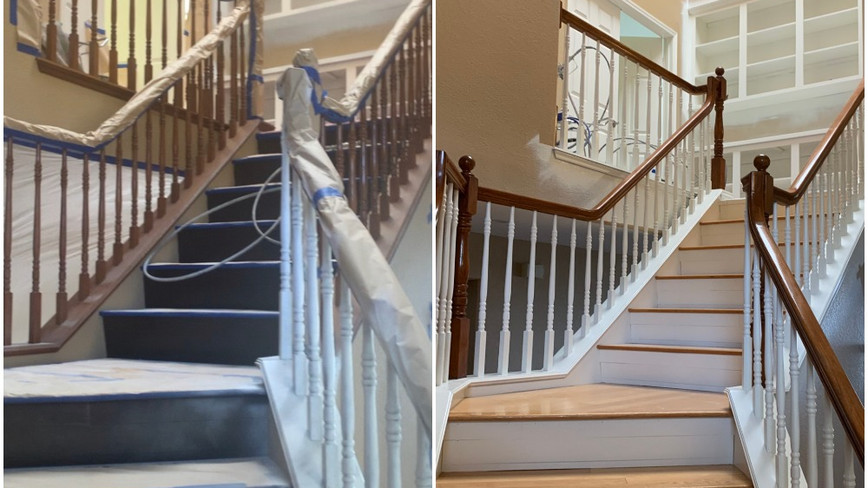 Stairway upgraded