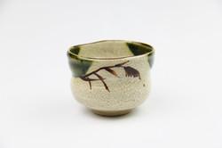 織部野点茶碗(景陶作)