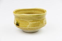 黄瀬戸茶碗(景陶作)