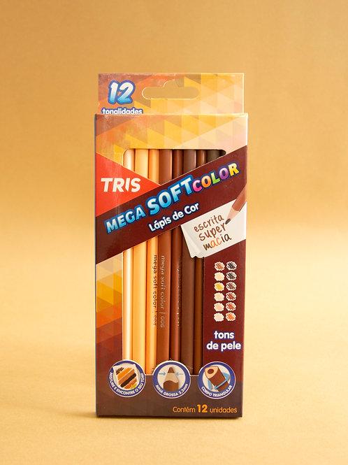 Lápis de Cor Tons de Pele