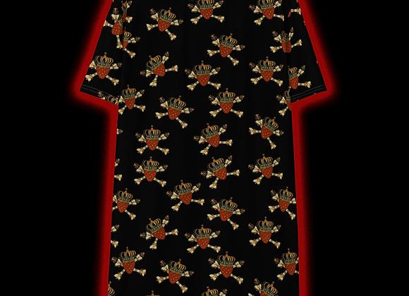 Legendberry All-Over Print T-Shirt Dress