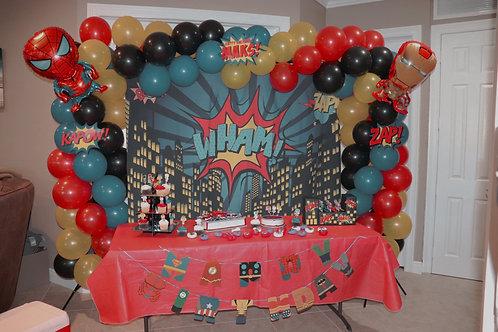 Spiral Balloon Arch