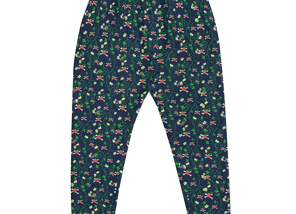 Berry Patch Floral All-Over Print Joggers