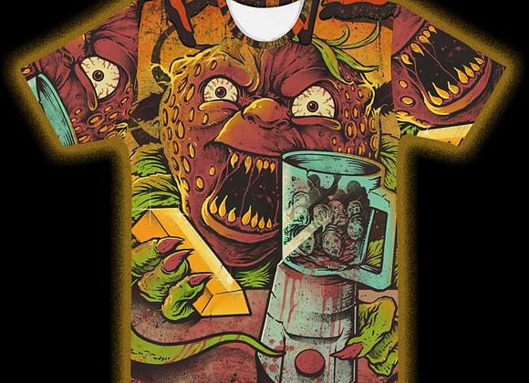 Fools Gold All-Over Print Crew Neck T-Shirt