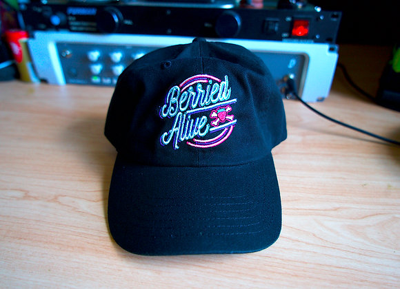 NEON SIGN DAD HAT