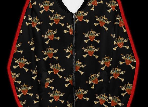 Legendberry Print Bomber Jacket