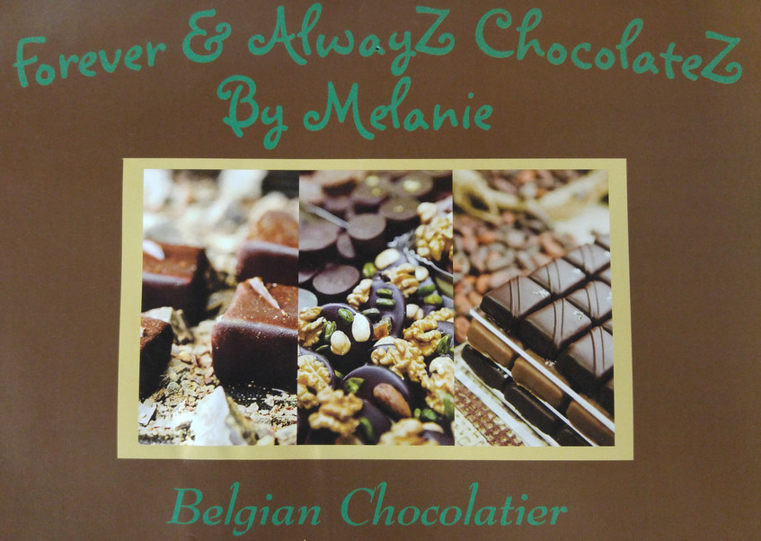 Handmade Belgium Chocolate Bar!