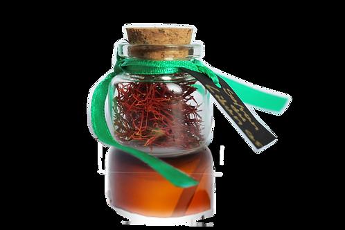 Saffron Flask, small