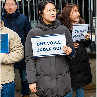 다카 청년들 위한 드림액트 법안 통과 시위