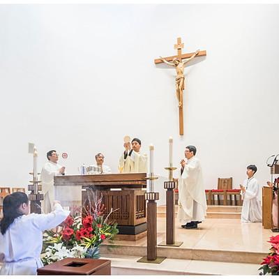 St Paul Chong Hasang R.C. Church Christmas Mass