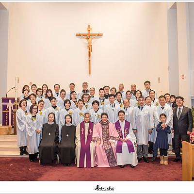 2018 성 바오로 정하상 천주교회 성탄 세례식