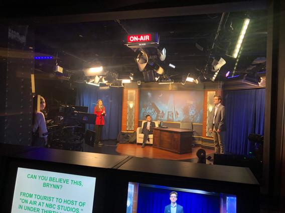 NBC Studios in Action