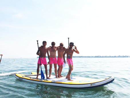 Les Voiles royales vous expliquent comment débuter en stand up paddle à La Baule