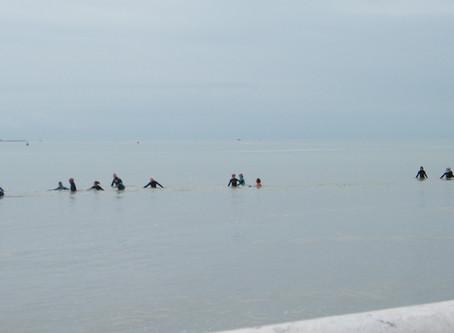 Tout savoir sur le longe-côte, la nouvelle pratique sportive à La Baule