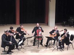 Avec le quatuor Arthur Leblanc