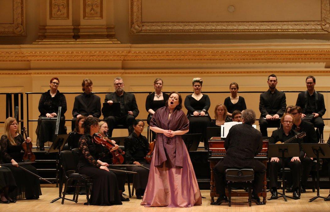 Carnegie Hall avec Les violons du ro