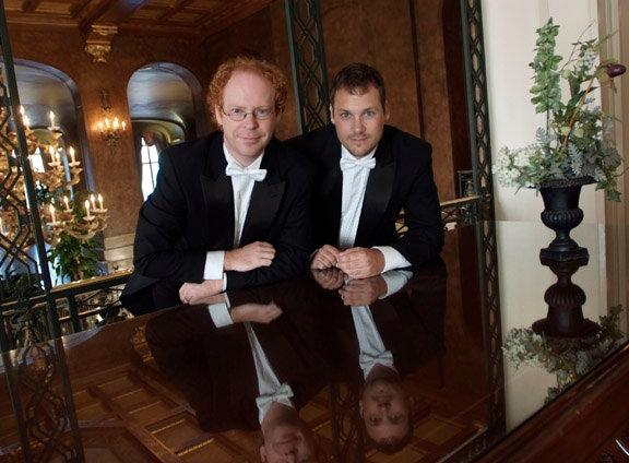 Avec Sylvain Neault, violoniste