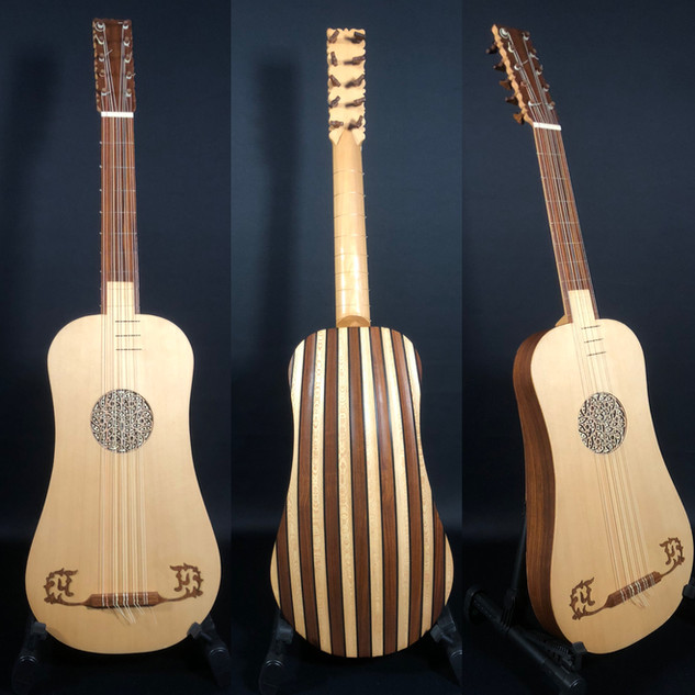 Baroque guitar Rosebeck