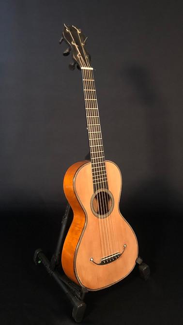 Anonymous children guitar c.1830, Mirecourt