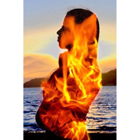 Firey waves