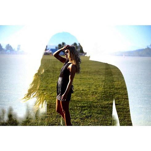 ☀️👩🏼 Sunny double exposure.