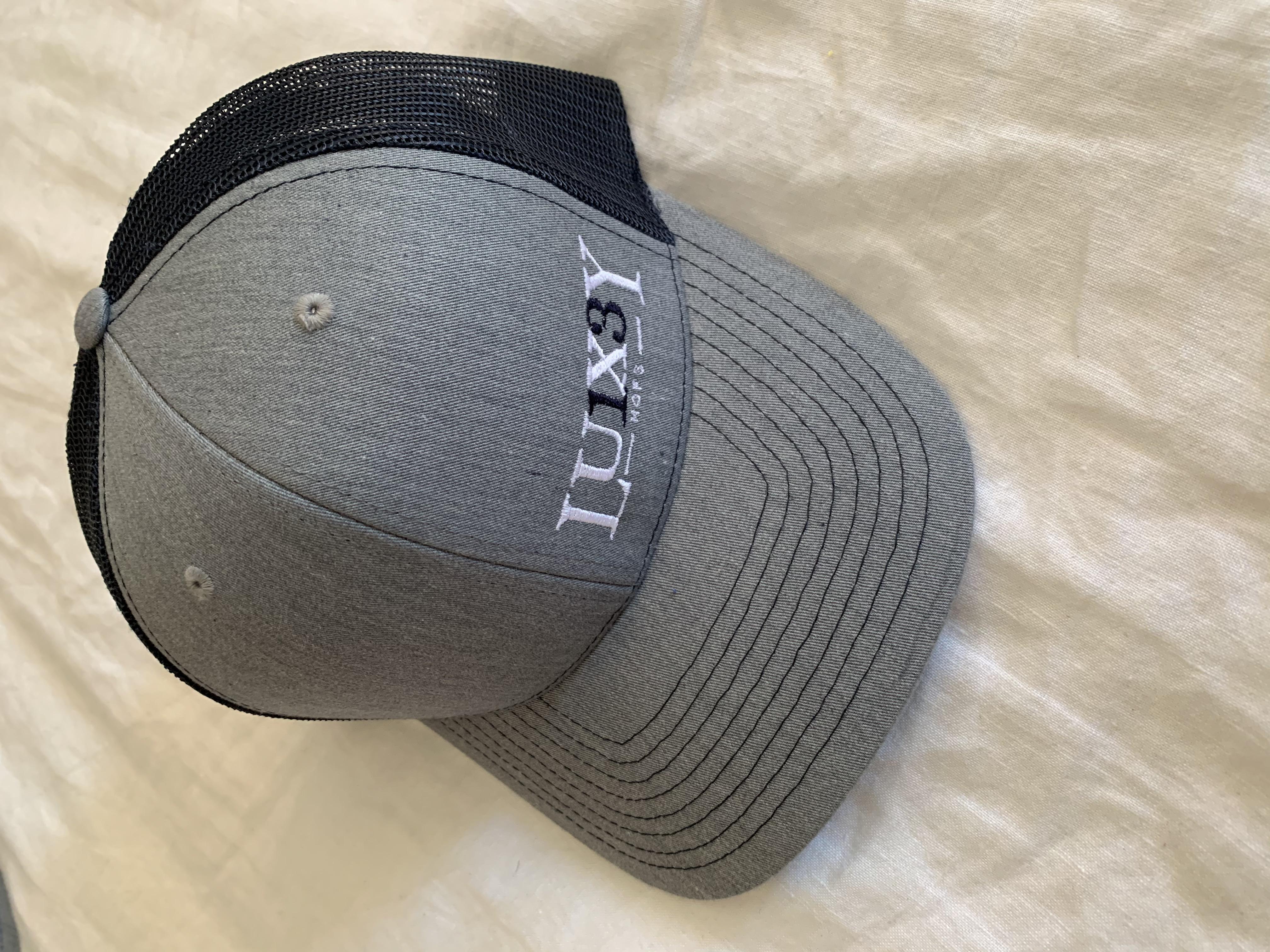 Gray-Navy Trucker Cap