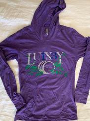 Purple Hooded LS