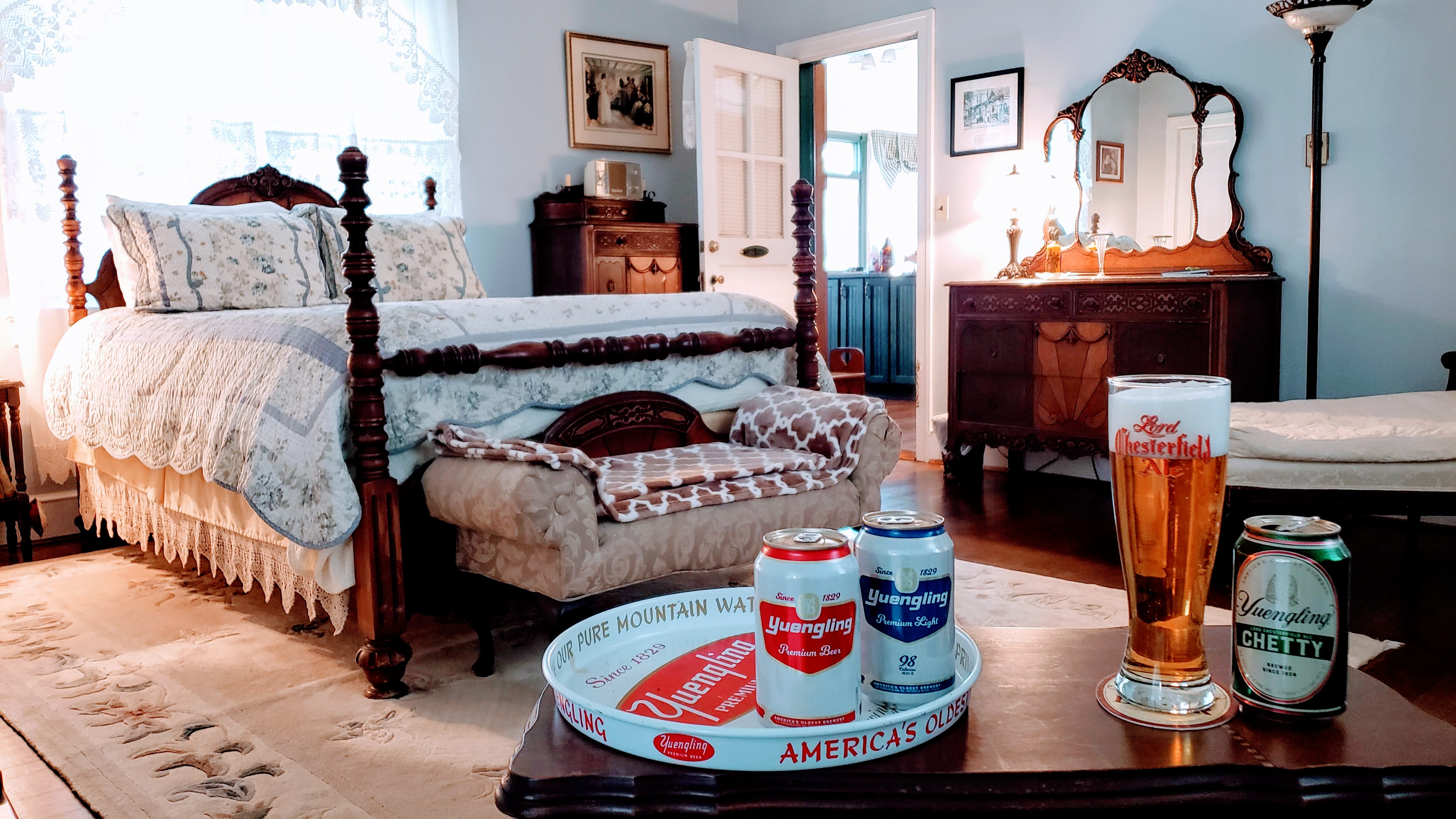 Cozy Rooms & Craft Beer